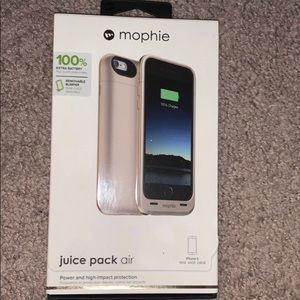 Mophie Charging Case IPhone 6/7 Gold